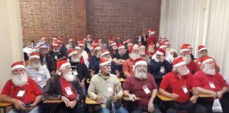 Em época de crise, idosos participam de curso de Papai Noel