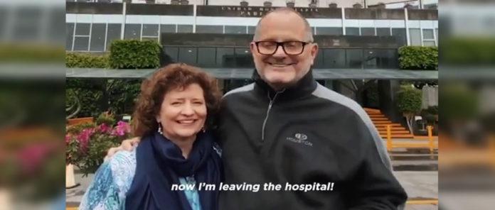 Marcos Witt deixa o hospital após cirurgia cardíaca