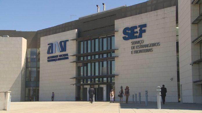 Sede do Serviço de Estrangeiros e Fronteiras (SEF) de Portugal