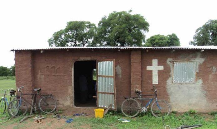 Igreja cristã no Mali, onde a violência extremista islâmica teve grande aumento no ano passado. (Foto: Reprodução/Barnabas Fund)