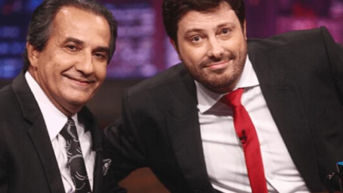 Danilo Gentili e Silas Malafaia