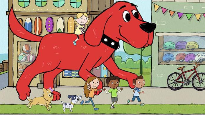 Desenho infantil Clifford, o Gigante Cão Vermelho introduz personagens LGBT