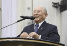 Pastor José Wellington Bezerra, ex-presidente da CGADB. Foto: Reprodução