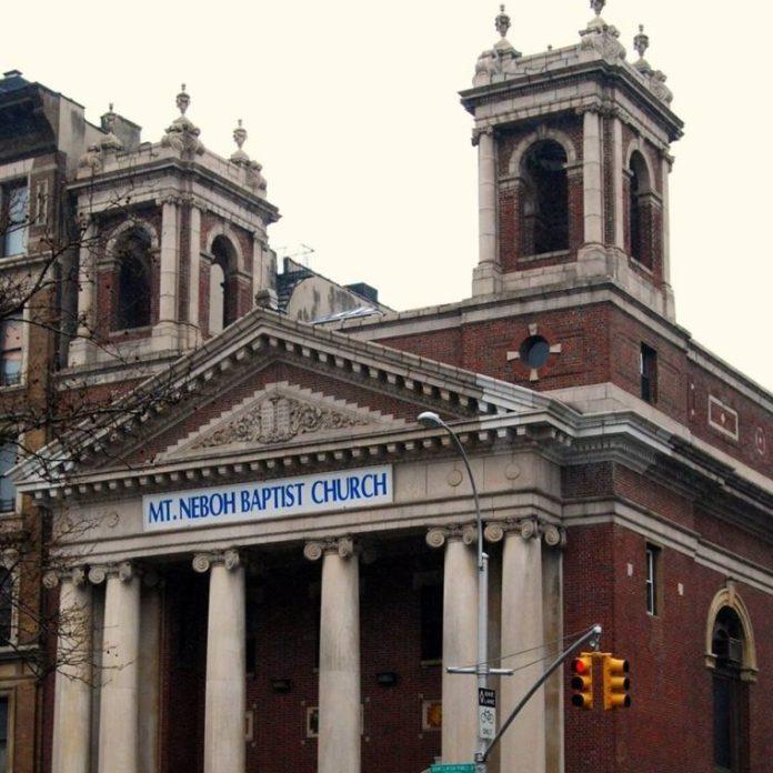 Igreja Batista Mount Neboh, em Manhattan, NY, EUA