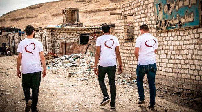 Cristãos da ONG SOS Chrétiens d'Orient (SOS Cristãos do Oriente)