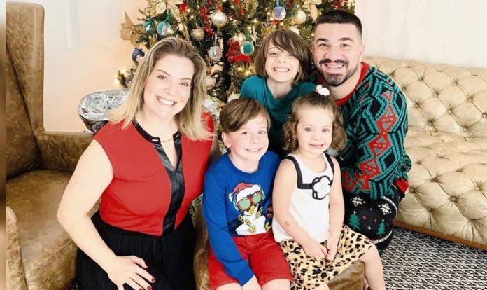 Família de Felippe e Mariana Valadão está com Covid-19. (Foto: Felippe Valadão)
