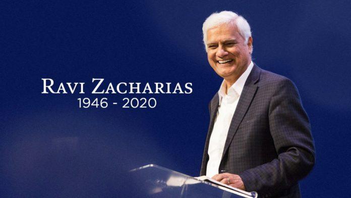 Ravi Zacharias morreu em 19 de maio de 2020, aos 74 anos, após batalha contra o câncer.