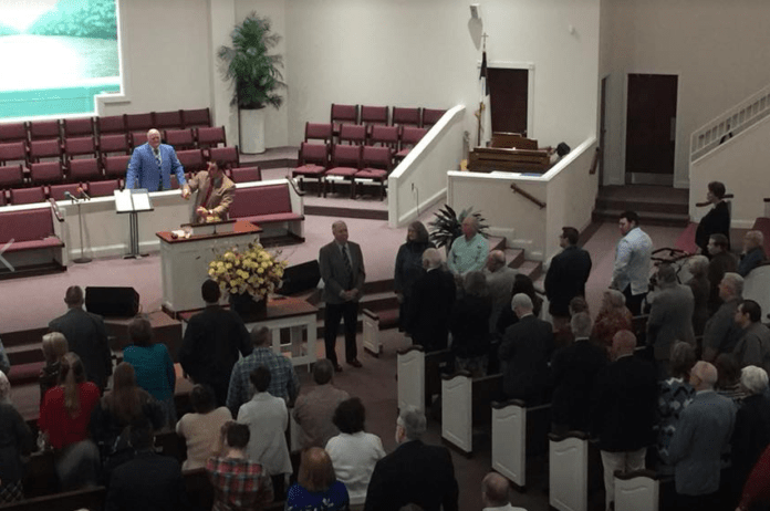 Igreja Tabernáculo Batista de Catoosa, na Georgia, EUA