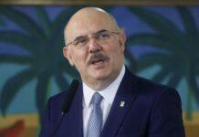 Cerimônia de posse do ministro da Educação, Milton Ribeiro.