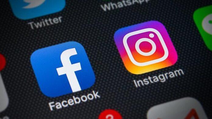 Logos do Facebook e Instagram