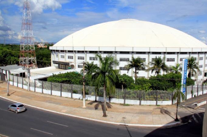 Grande Templo, sede da Igreja Evangélica Assembleia de Deus do Estado do Mato Grosso, tem capacidade para abrigar 22 mil pessoas sentadas