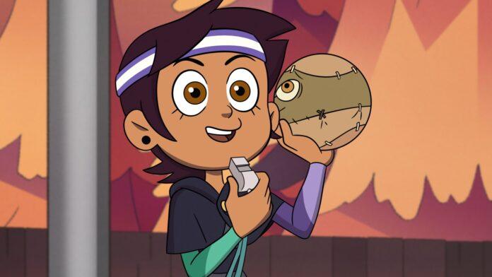A personagem Luz no episódio