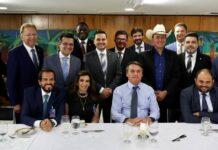 O presidente Jair Bolsonaro almoçou com pastores e parlamentares evangélicos nesta quarta-feira, 16 de setembro, após vetar perdão a dívidas de igrejas