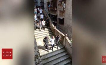 A prisão de cerca de 50 cristãos ocorreu após a polícia invadir a igreja doméstica 'Sola Fide', na China. (Imagem: Bitter Winter)