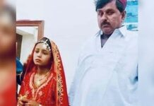 Rapto, conversão e casamento de menina hindu menor no Paquistão. (Foto: Reprodução / Hoaxorfact)