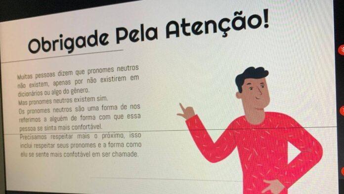 Atividade sobre gênero neutro foi realizado no Colégio Apoio, em Recife