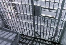 cela de uma prisão