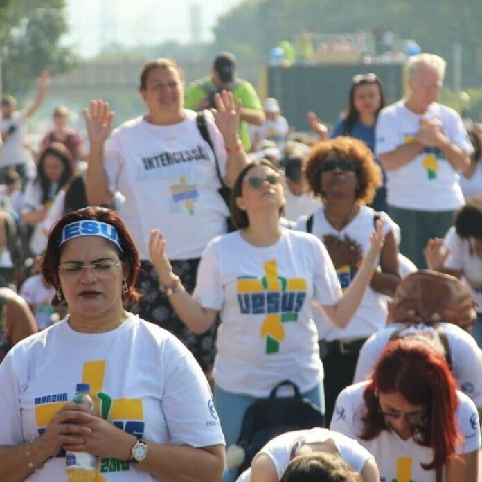 Marcha Para Jesus Foto: Reprodução