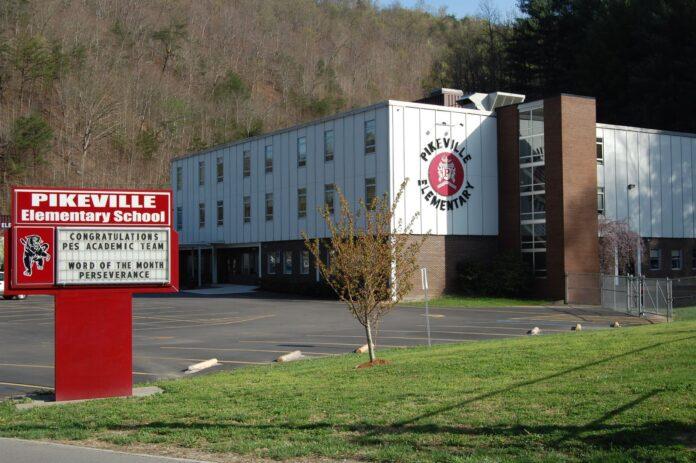 Pikeville Elementary School, no estado de Kentucky, nos EUA.