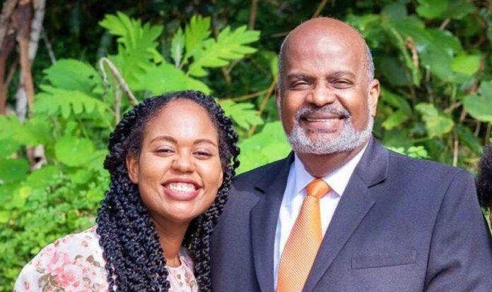 Pastor Elie Henry e sua filha, Irma. (Foto: IASD News)