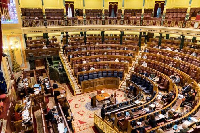 Câmara dos Deputados da Espanha (Foto: Twitter @Congreso_Es)