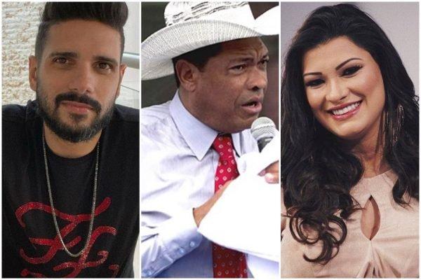 Filipe Iannie, Valdemiro Santiago e Raquel Santiago
