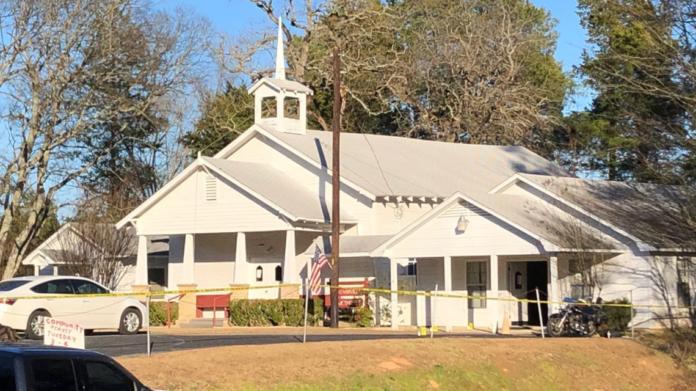 Igreja Metodista de Starrville em Winona, Texas