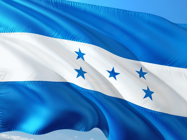 Bandeira de Honduras (Imagem de jorono por Pixabay)