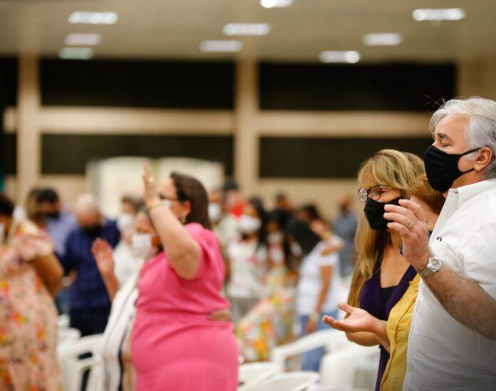 Culto na Igreja Presbiteriana em Manaus