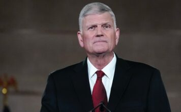 Pastor e evangelista americano Franklin Graham