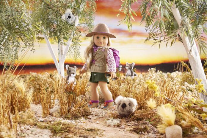 Kira Bailey, a Garota do Ano, 2021, da American Girl (Foto: Divulgação Mattel)
