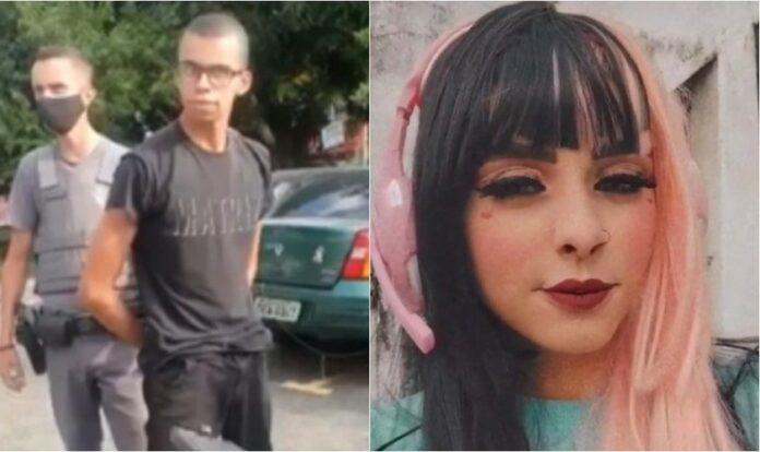 O estudante Guilherme Alves Costa, de 18 anos, acusado da morte de Ingrid Oliveira Bueno da Silva, de 19 anos. (Foto: Reprodução/G1)