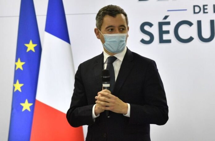 O Ministro do Interior da França, Gérald Darmanin. (Foto: Twitter Gérald Darmanin)