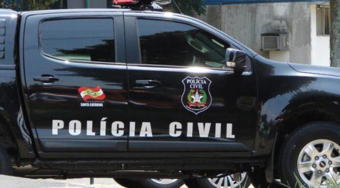 Viatura da Polícia Civil de Santa Catarina