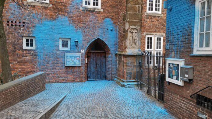 A fachada do prédio da Igreja de São Martini, em Bremen (Alemanha), em 7 de março de 2021. / Facebook St. Martini Gemeinde Bremen