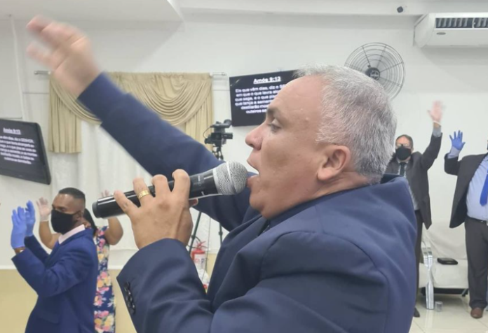 Pastor Ezequias Silva, da Igreja Assembleia de Deus Belém do Pará na Penha Foto: Reprodução