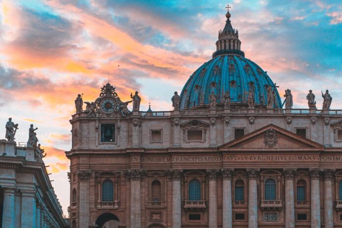 Basílica de São Pedro, no Vaticano.
