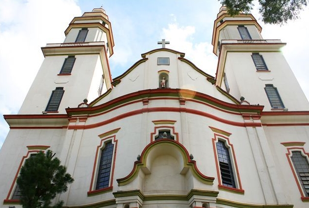 Igreja de São Sebastião, que fica no Barro Preto, na região Centro-Sul de Belo Horizonte