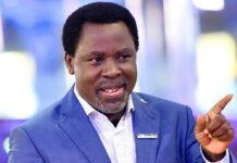 O pastor nigeriano TB Joshua