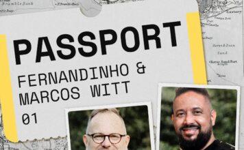 """Fernandinnhbo e Marcos Witt na estreia do projeto """"Deezer Passport"""""""
