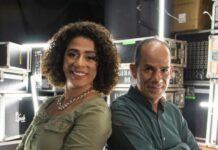 Priscila Angel e Maurílio Santos