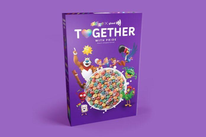 Marca de cereais Kellogg's faz parceria com grupo LGBT
