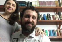 Glauce Cunha, esposa do cantor Leonardo Gonçalves, está grávida do primeiro filho do casal.