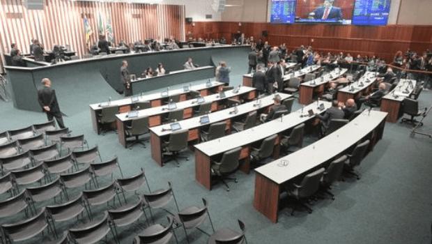 Plenário da Assembleia Legislativa do Estado de Goiás. | Foto: Portal Alego