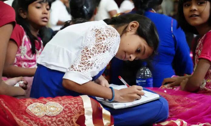 Garota cristã no Sri Lanka (foto representativa)