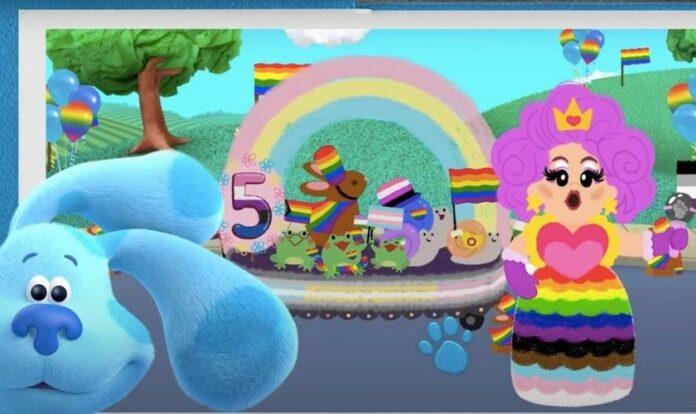 Novo desenho infantil da Nickelodeon mostra drag queen apresentando desfile LGBT (Foto: Reprodução/YouTube)