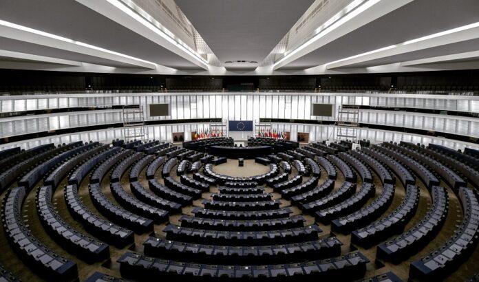 Vista da sala do plenário do Parlamento Europeu em Bruxelas. / Foto: Frederix Köberl , Unsplash