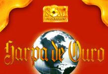 Capa do álbum Harpa de Ouro, lançado pela antiga gravadora Som e Louvores