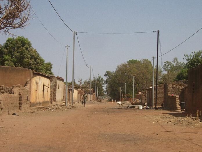 Vilarejo em Burkina Faso