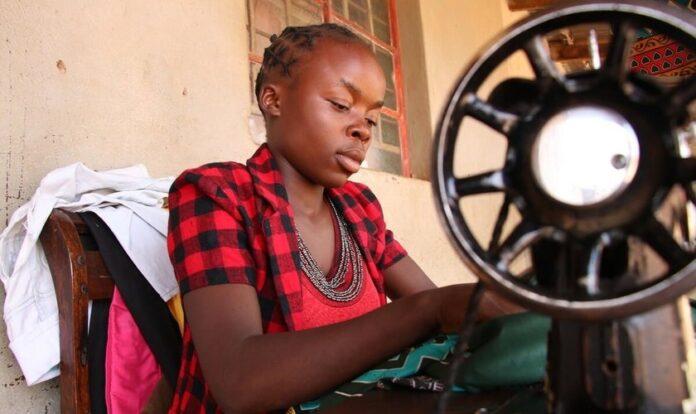 Mwilla é uma das adolescentes resgatadas pela Visão Mundial. (Foto: Visão Mundial Internacional)